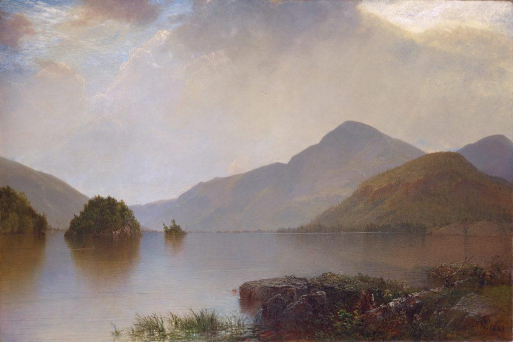 LG on Mist Painting